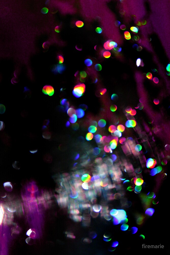Ripped Apart Rainbow by Marie Arneklev