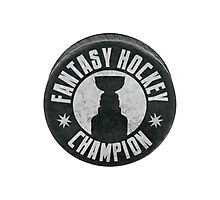 Fantasy Hockey Champion Photographic Print