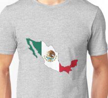 Mexico Mexican Flag Unisex T-Shirt