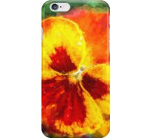 Spring Pansy iPhone Case/Skin