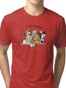 Cockapoo Lover Tri-blend T-Shirt