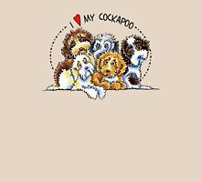 Cockapoo Lover Womens Fitted T-Shirt