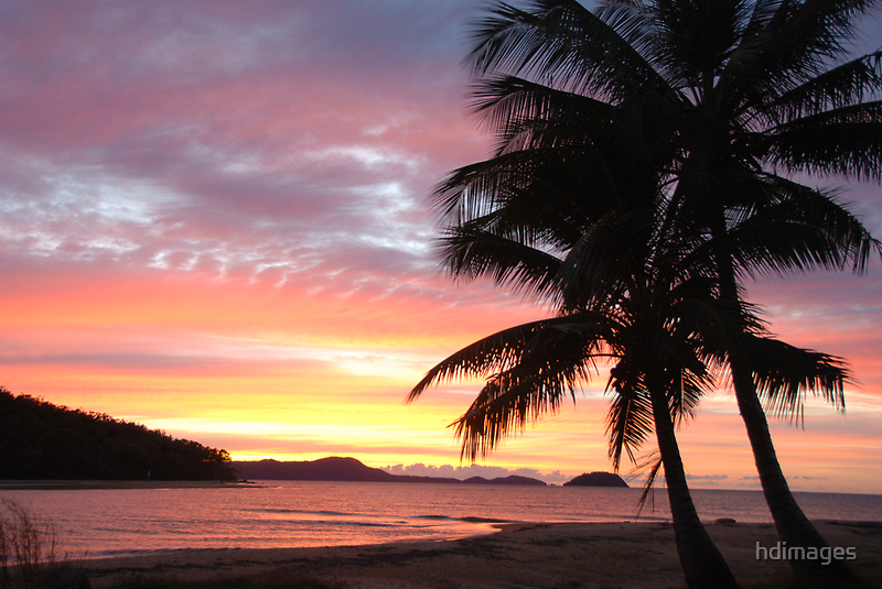 Dunk Island Sunrise by hdimages