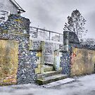 The Old Monsestery Wall  by Nigel Bangert