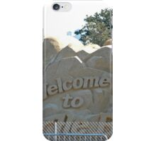 Presidential Election sandcastle iPhone Case/Skin