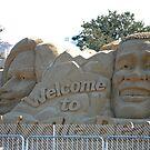 Presidential Election sandcastle by imagetj