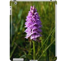Spotted Orchid,  Donegal as iPhone case iPad Case/Skin
