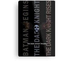 The Dark Knight Trilogy - Villains (Color) Metal Print