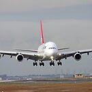 The Qantas A380 by Peter Redmond