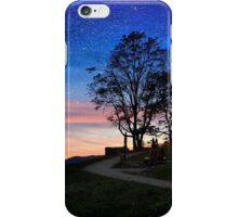 Watching the stars iPhone Case/Skin