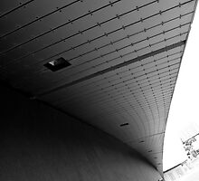 exterior photograph imperial war museum salford quays manchester by magichoc