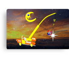 When You Wish Sat On a Star, Makes No Difference Who You Are Canvas Print