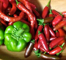 Peppers by Nicoletta37