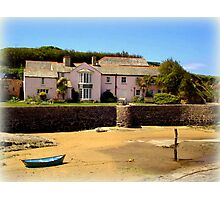 Cottage on Bude Beach Photographic Print