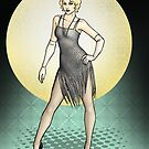 Georgette - 1920s Flapper Showgirl by CatAstrophe