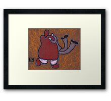 Me and the Wife Dancing Framed Print