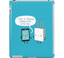 A strong connection iPad Case/Skin