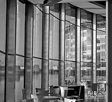 Interior of the Lowry Centre Salford Quays Manchester by magichoc