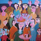 Happy people by Detlev  Jurkuhn