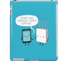 Una conexíon fuerte iPad Case/Skin