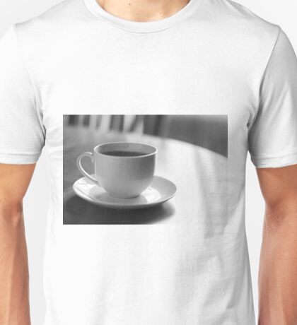 Coffee Cup Saucer Unisex T-Shirt
