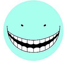 Korosensei Very Angry Round Face Photographic Print