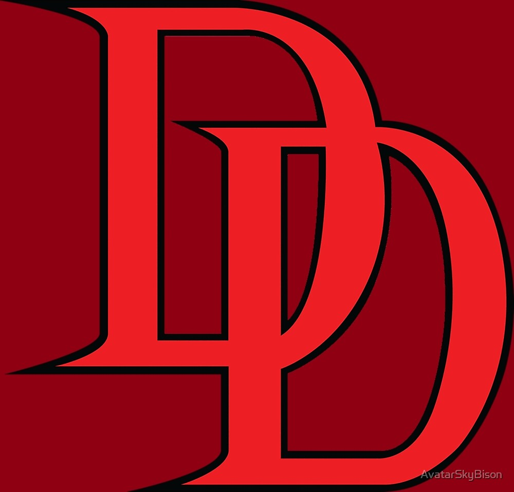 daredevil logo by avatarskybison daredevil movie poster