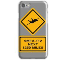 VMFA-112 iPhone Case/Skin