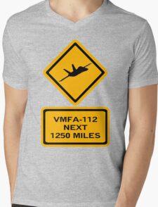 VMFA-112 Mens V-Neck T-Shirt