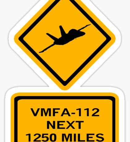 VMFA-112 Sticker