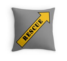FIGHTER RESCUE Throw Pillow