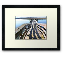 Come on out! Framed Print