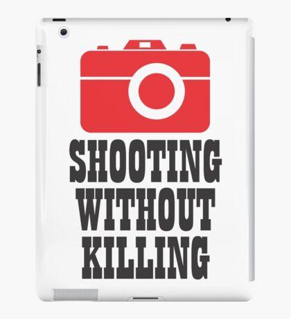 shooting iPad Case/Skin
