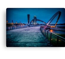 Seri Gemilang Bridge  Canvas Print