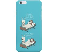 5 more minutes iPhone Case/Skin