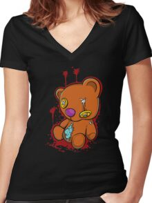 Teddy Gore Women's Fitted V-Neck T-Shirt