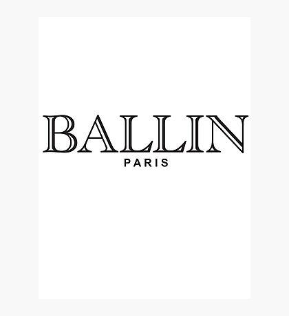 BALLIN PARIS Photographic Print