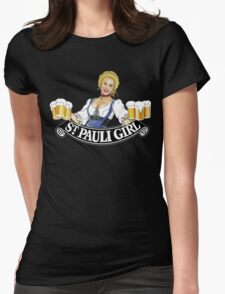 St Pauli Girl Beer Womens Fitted T-Shirt