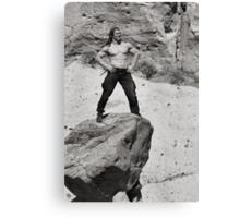 King of the Hoodoos - Tent Rocks National Park Canvas Print