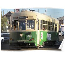 The 4th Avenue Trolley in Tucson, Arizona Poster