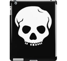 White Skull iPad Case/Skin