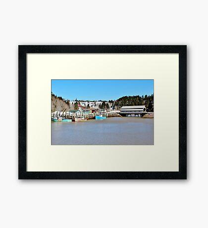 The Inner Harbour Framed Print