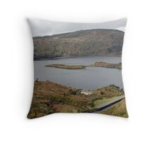 Lough Ine, Co.Kerry, Throw Pillow