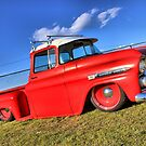 Colorful photo of a Chevy by GWGantt