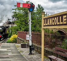 Llangollen Railway Station by Adrian Evans