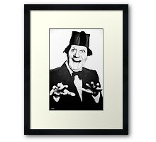 """Just Like What?"" Framed Print"