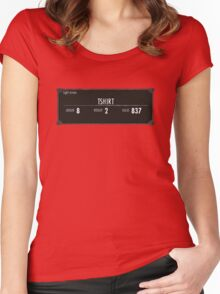 Tshirt! Women's Fitted Scoop T-Shirt