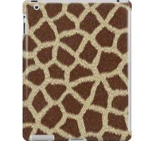 GIRAFFE FUR SKIN PRINT iPad Case/Skin