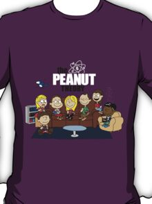 The Big Bang Theory Peanuts T-Shirt
