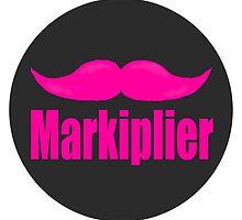 """Markiplier's mustache by Ulrik """"TheFoxOnFire"""" Christensen"""
